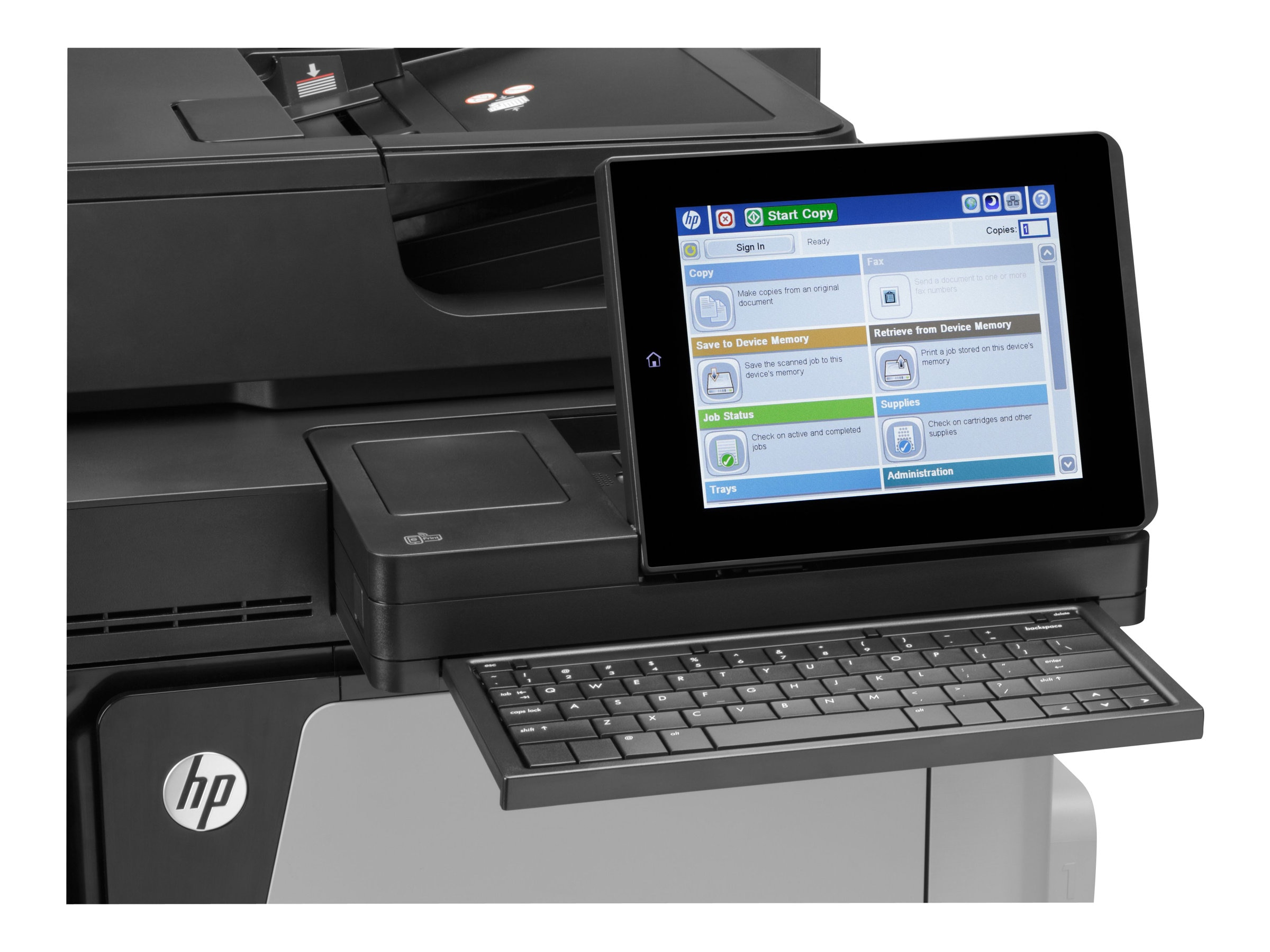 HP Color LaserJet Enterprise Flow MFP M680z Printer (TAA Compliant VPA) FIPS, CZ250A#201