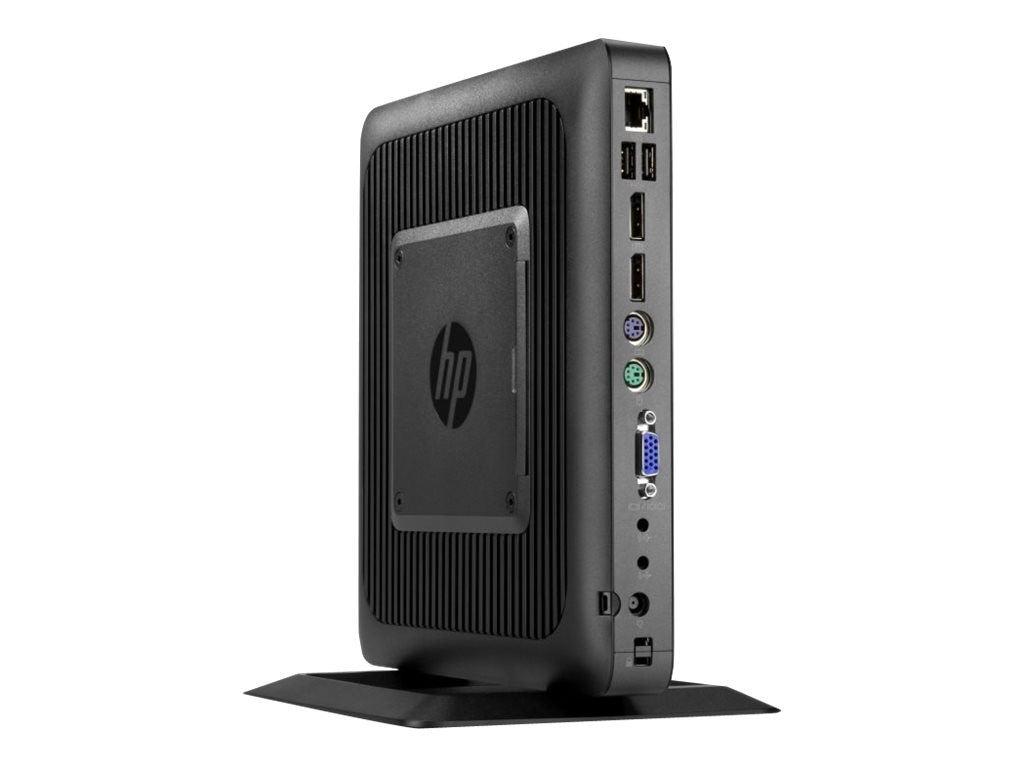 HP t620 Flexible Thin Client AMD DC GX-217GA 1.65GHz 4GB RAM 16GB Flash HD8280E GbE WES7E, F5A54AA#ABA