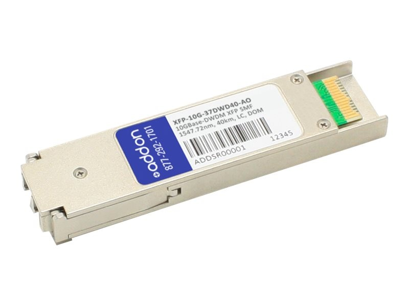 ACP-EP Alcatel-Lucent 10GBase-DWDM 100GHz XFP Transceiver, TAA, XFP-10G-37DWD40-AO