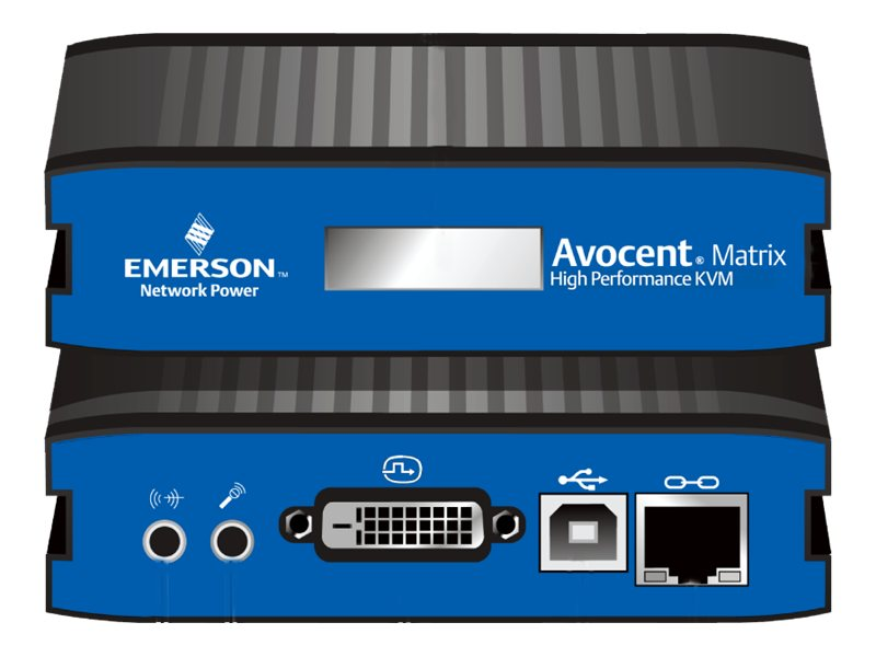 Avocent Matrix Transmitter USB Single DVI-I Audio, MXT5110-DVI, 16298391, Network Extenders
