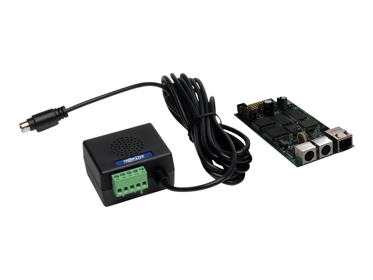 Tripp Lite SNMP Web Interface Card, ENVIROSENSE Sensor for Remote Cooling Management, Instant Rebate - Save $25, SRCOOLNET2, 26688704, Rack Cooling Systems
