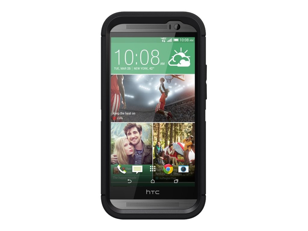 OtterBox Defender Series for HTC One M8, Black