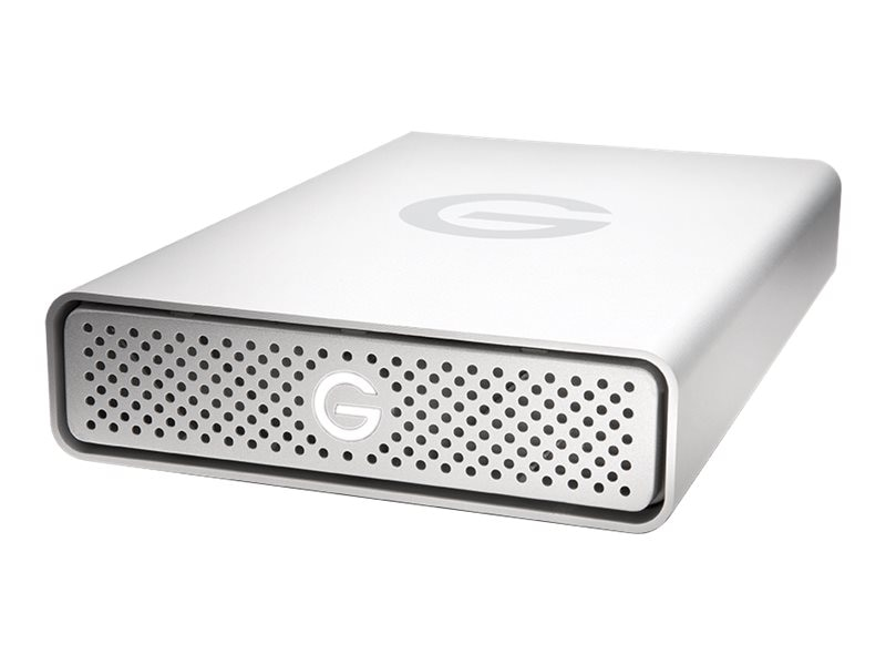 G-Technology 8TB G-Drive USB G1 Storage - Silver