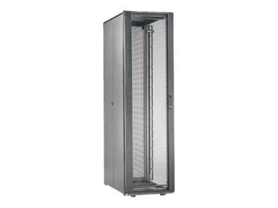 Panduit Net-Access S-Type 45U Cabinet Frame w  Top Panel, Perforated Front Door, Split Perforated Rear Doors, S6522B
