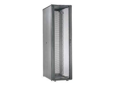 Panduit Net-Access S-Type 45U Cabinet Frame w  Top Panel, Perforated Front Door, Split Perforated Rear Doors