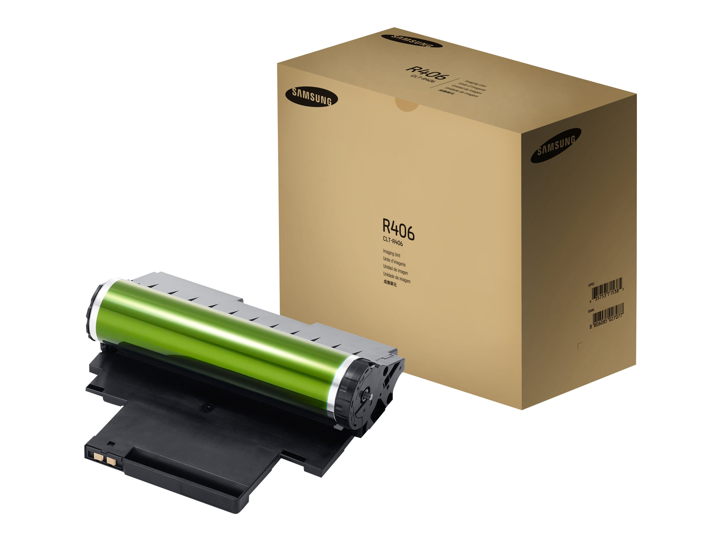 Samsung CMYK Imaging Unit for CLX-3305FW Color Multifunction Printer & CLP-365W Color Laser Printer, CLT-R406, 14481052, Toner and Imaging Components