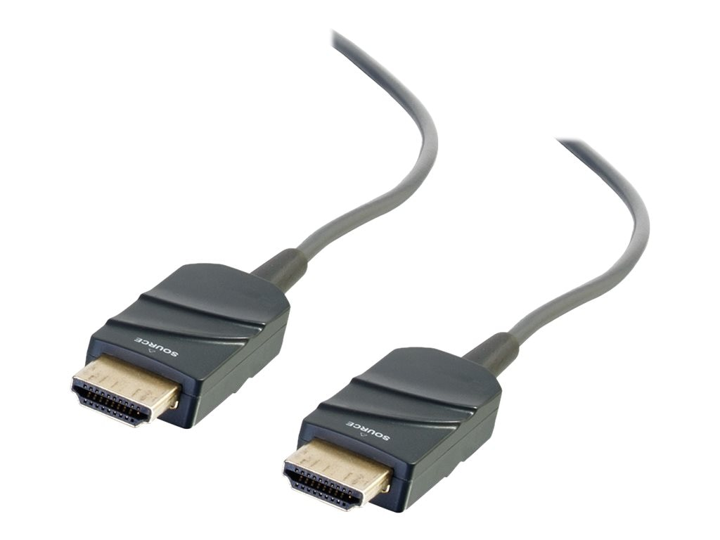 C2G High Speed HDMI Active Optical Cable Plenum, CMP Rated, Black, 100ft, 41373, 24631616, Cables