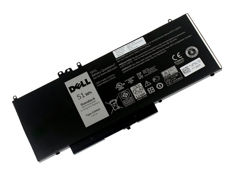 BTI 4-Cell Battery for Dell Latitude E5550 G5M10 08V5GX 8V5GX, DL-E5550-OE