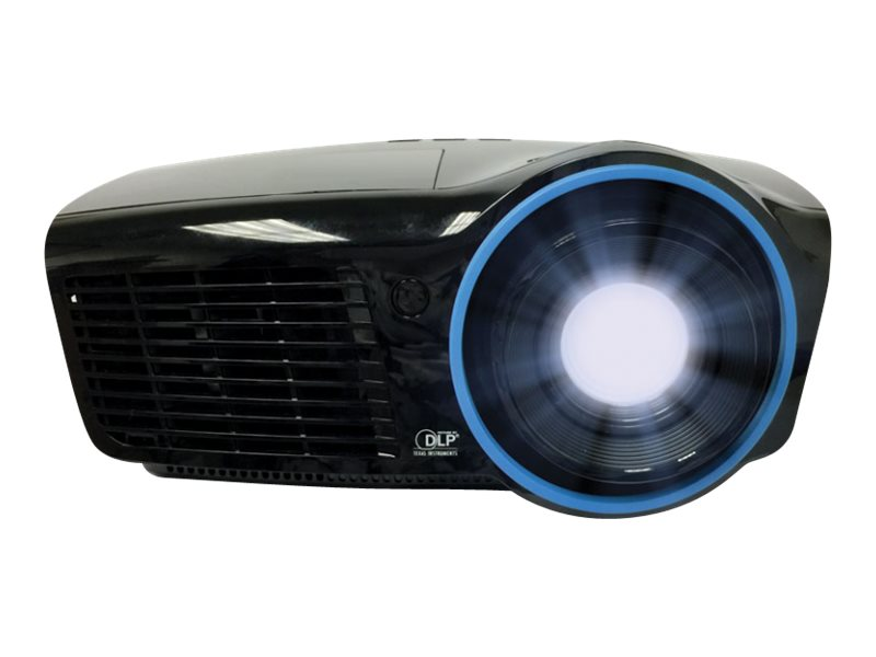 InFocus IN3138HDa 1080p 3D DLP Projector, 4000 Lumens, Black, IN3138HDA