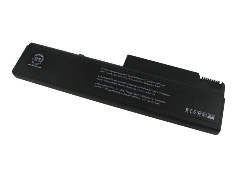 BTI 6-Cell Li-Ion Battery for HP  6530B 6535B 6730B Laptops, 486296-001-BTI