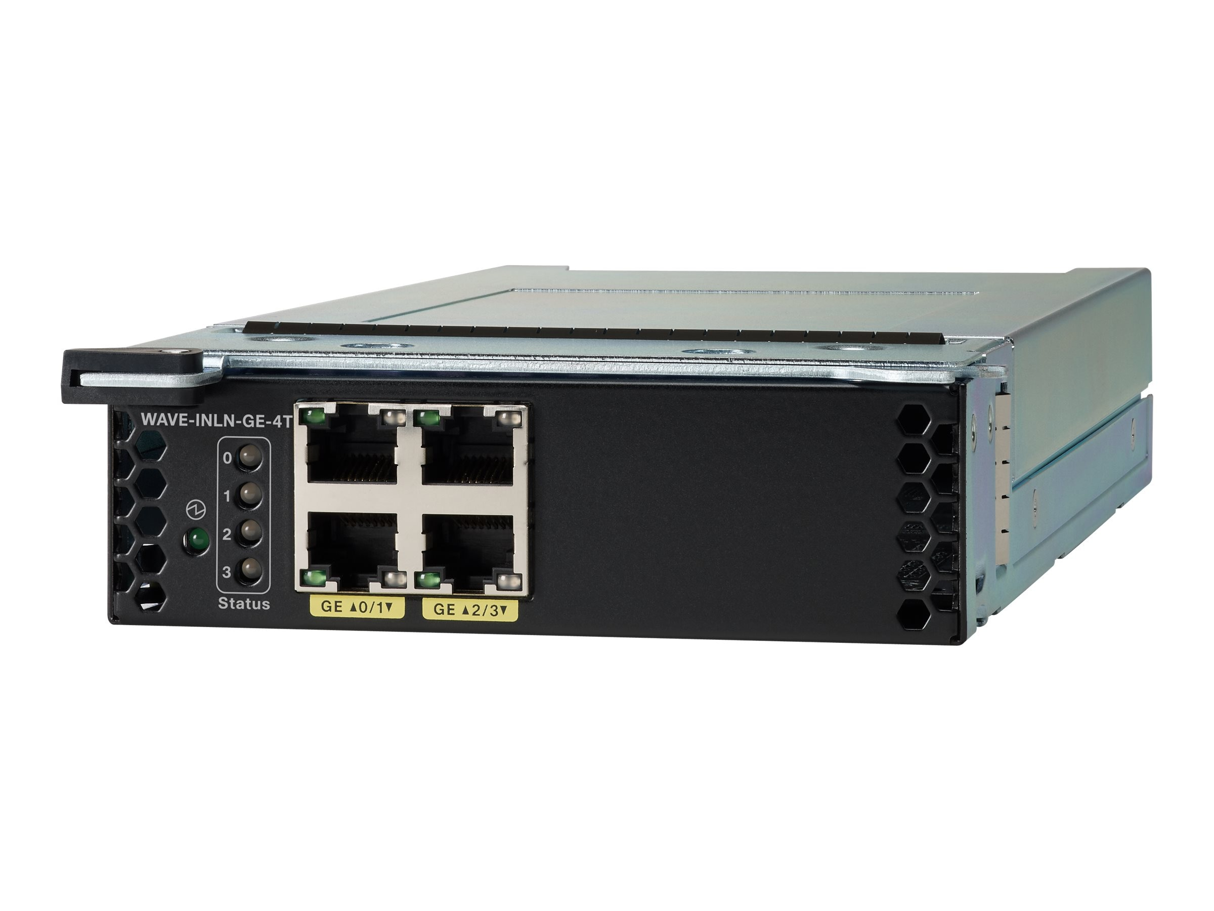 Cisco 4-Port Gigabit Ethernet Copper Module, WAVE-INLN-GE-4T, 13302462, Network Device Modules & Accessories