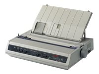 Oki MicroLine 186 Dot Matrix Printer - Serial, USB (120V)