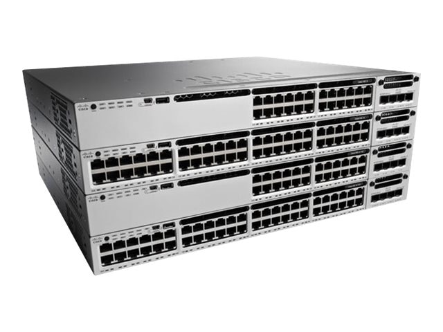 Cisco ONE Catalyst 3850 48-Port 10G Fiber Switch IP Base