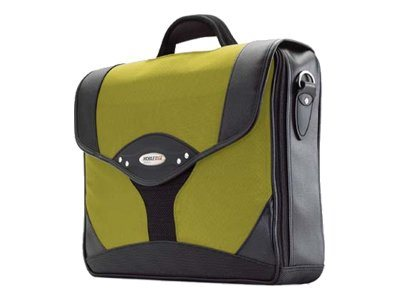 Mobile Edge Select Briefcase, Yellow Black, 1680D Ballistic Nylon, MEBCS4, 6101339, Carrying Cases - Notebook