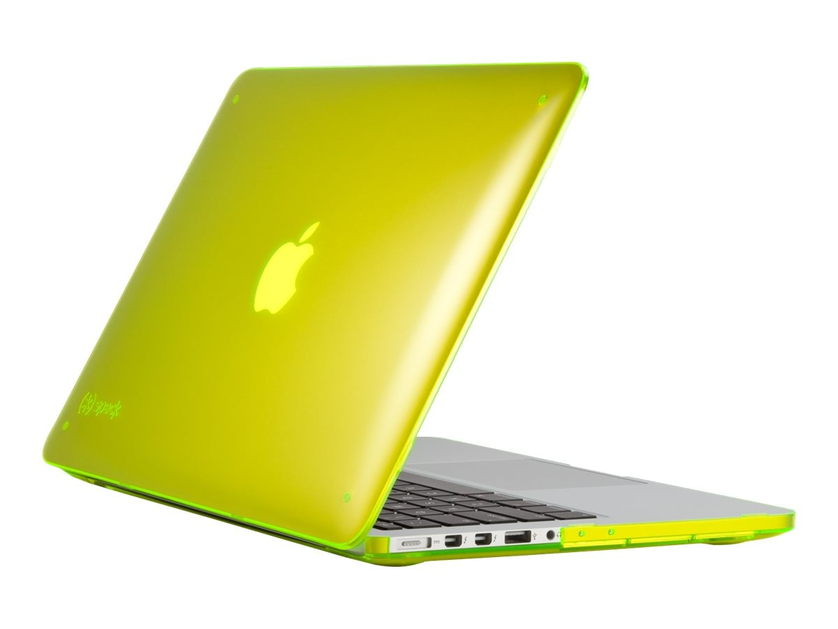 Speck 13 MB Retina See Thru Yellow, SPK-A2974, 19460875, Carrying Cases - Notebook