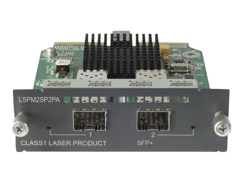 HPE 2Pt. 10-GBE SFP+ A5500 E4800 E4500 Module, JD368B, 11608265, Network Device Modules & Accessories