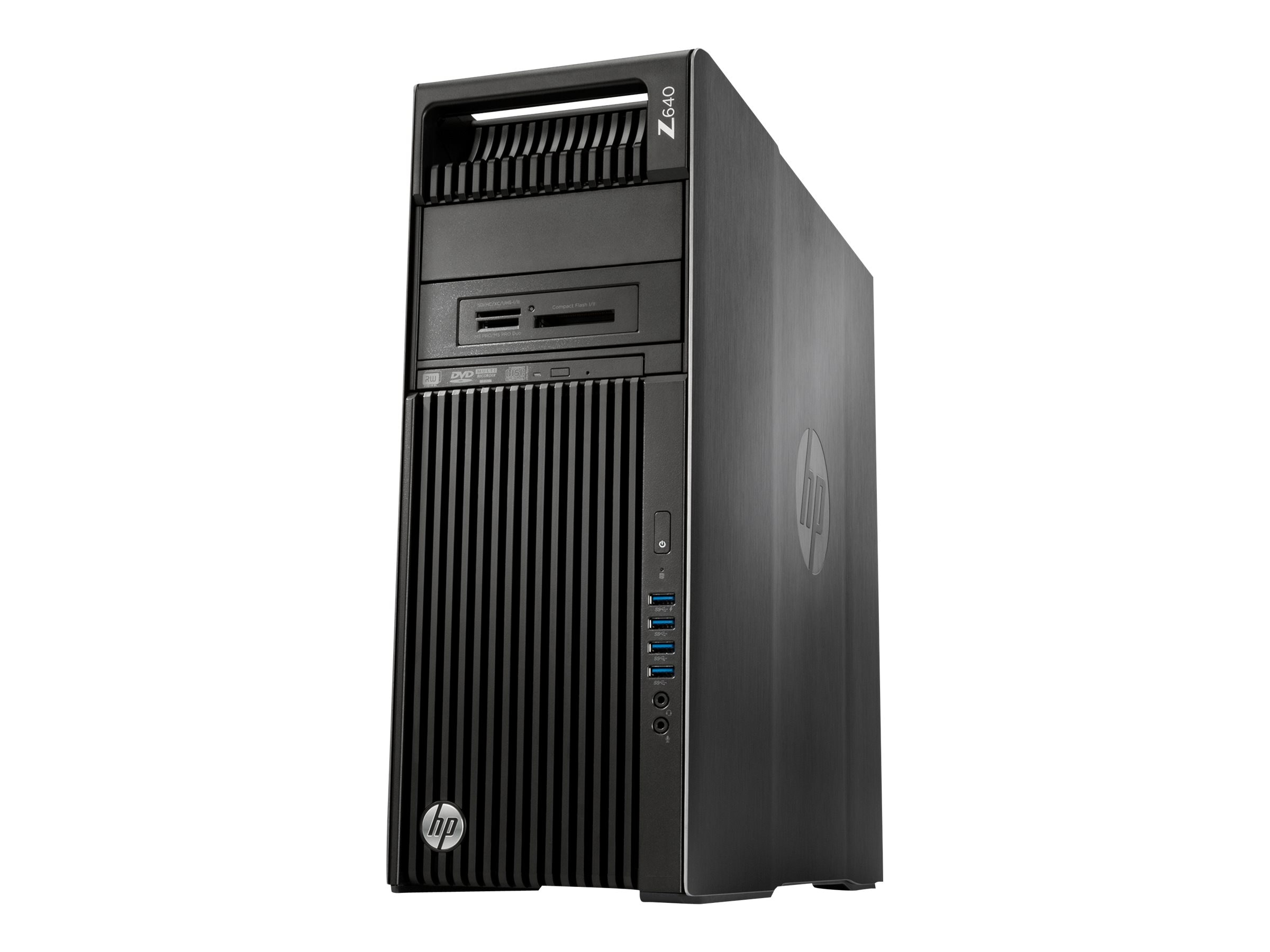HP Z640 2.4GHz Xeon Microsoft Windows 7 Professional 64-bit Edition   Windows 8.1 Pro, P0V65UT#ABA, 26271845, Workstations