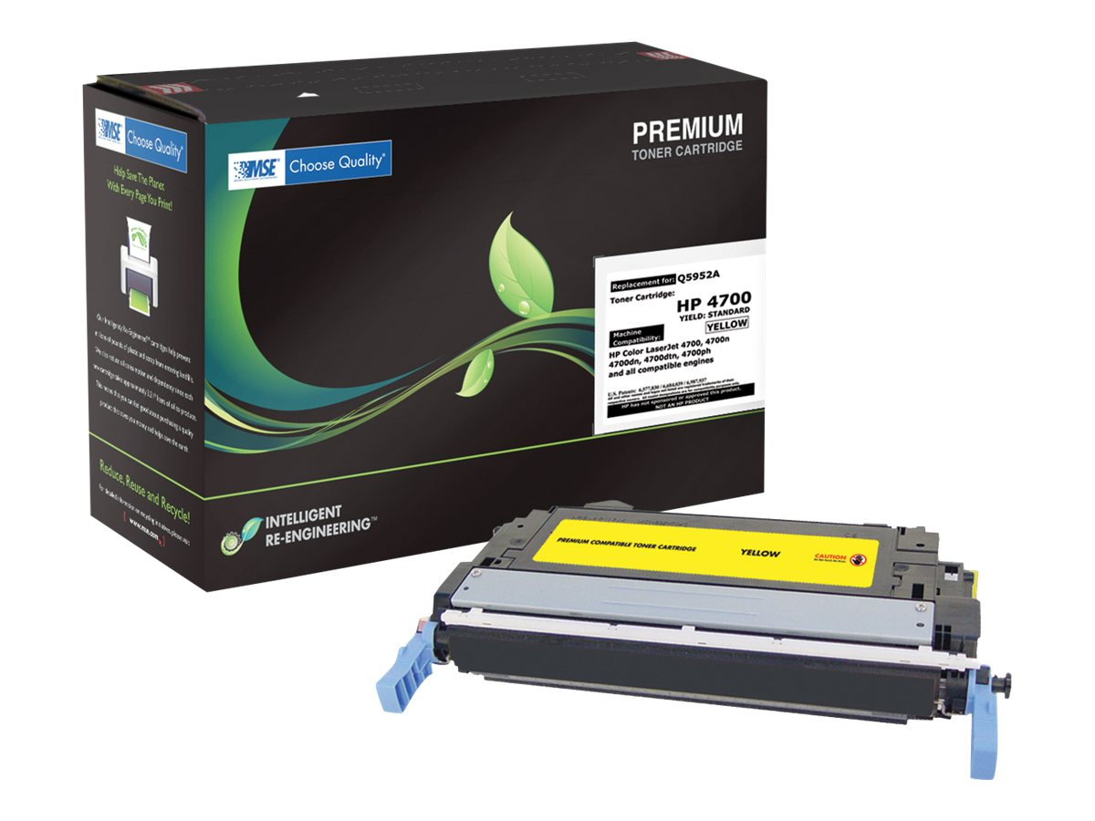 Q5952A Yellow Toner Cartridge for HP LaserJet 4700