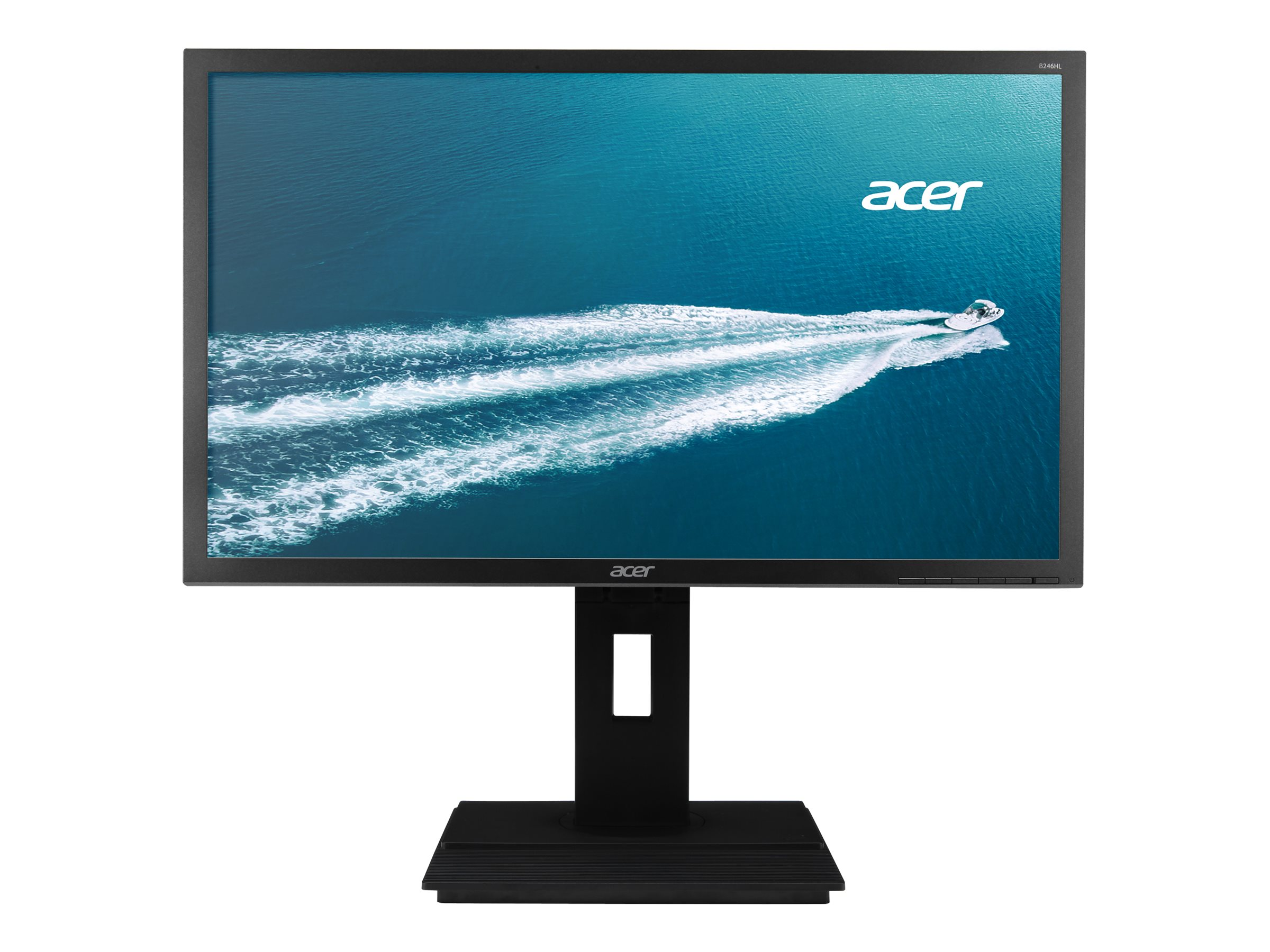 Acer 23.8 B246HYL Bymdpr Full HD LED-LCD Monitor with Speakers, Black