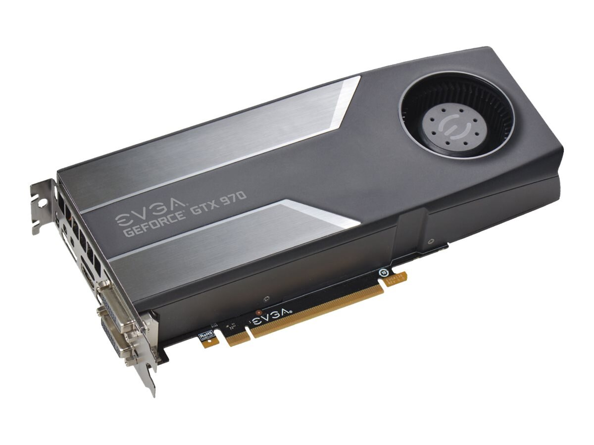 eVGA GeForce GTX 970 PCIe 3.0 x16 Graphics Card, 4GB GDDR5, 04G-P4-1970-KR, 17827135, Graphics/Video Accelerators