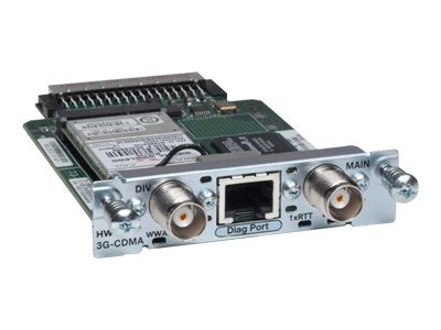 Refurb. Cisco Refurb. 3G WWAN CTLR HWIC-EVDO REV, Cisco Warranty, No Returns, HWIC-3G-CDMA-V-RF