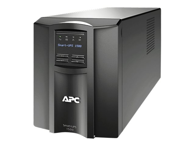APC Smart UPS 1500VA LCD Int'l 230V C14 Input (8) C13 Outlets Serial USB Smartslot, SMT1500I, 11847071, Battery Backup/UPS