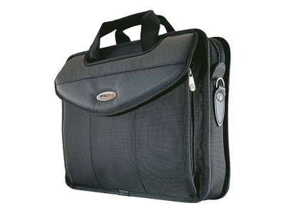 Mobile Edge Select V-Load Briefcase, Black, MEVLS1, 5280419, Carrying Cases - Notebook
