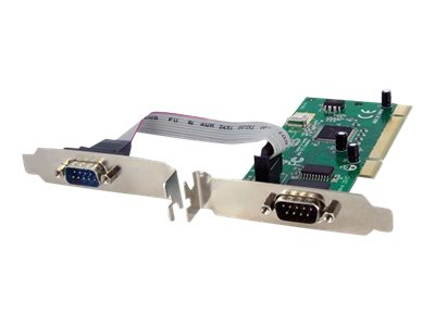 StarTech.com 2-Port PCI 16950 RS-232 Dual Voltage Dual Profile Serial Card, PCI2S950DV