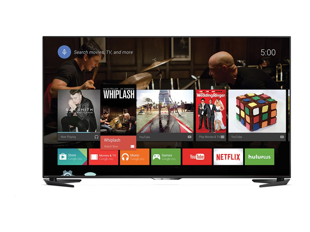 Sharp 60 LC60UE30U 4K Ultra HD LED-LCD Smart TV, Black, LC60UE30U, 30638380, Televisions - LED-LCD Consumer