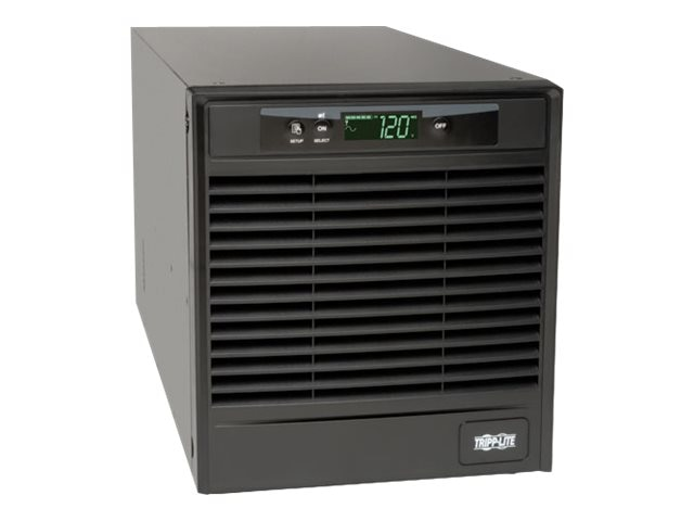 Tripp Lite SmartOnline 3kVA Online Double Conversion UPS, Tower, Interactive LCD, 120V, (9) Outlets