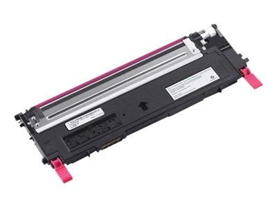Open Box Dell 1000-page Magenta Toner Cartridge for Dell 1230C Printer (330-3014), D593K, 30803269, Toner and Imaging Components