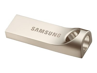 Samsung 128GB Bar USB 3.0 Flash Drive, Silver, MUF-128BA/AM