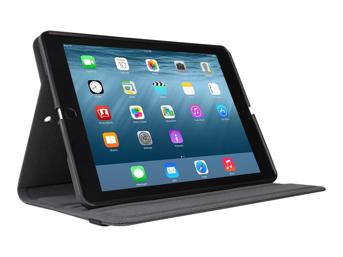 Targus Versavu Classic 360 Rotation Case for iPad Air Air 2 7.9, Black, THZ614GL