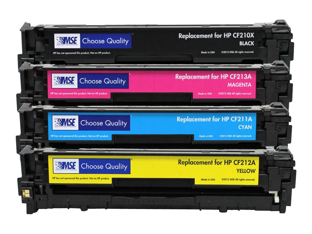 CF210X Black High Yield Toner Cartridge for HP M251, 02-21-21016, 31203370, Toner and Imaging Components