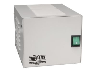 Tripp Lite 500W Isolation Trans Hospital Grade (4) Outlet UL2601-1, IS500HG, 4918118, Power Converters