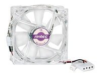 Antec Case Fan, 80mm, Double Ball Bearing w  3-Pin and 4-Pin Connector