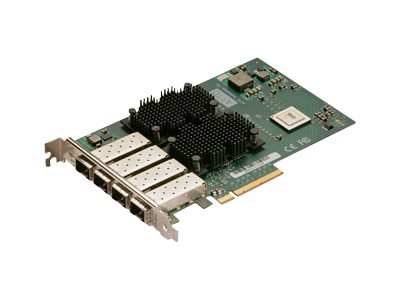 Atto FastFrame NS14 10GBE 8PCIe NIC Quad-Channel FH LC SFP+ SR ROHS, FFRM-NS14-000, 12726028, Network Adapters & NICs