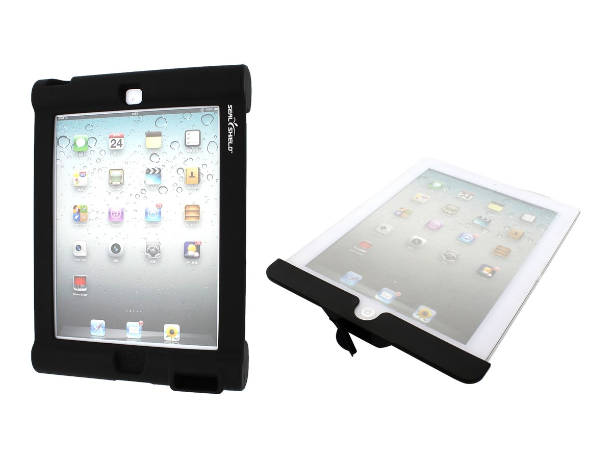 Seal Shield Combo Shield Combo for iPad w  Shield and Bumper Silicone Case