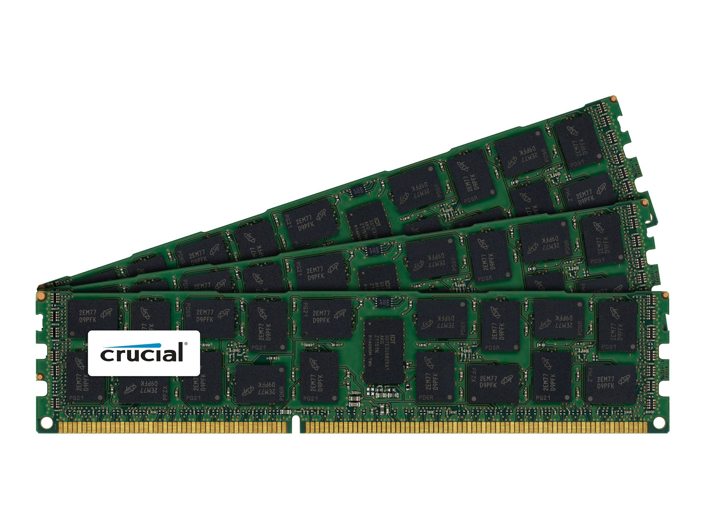 Crucial 96GB  PC3-8500 240-pin DDR3 SDRAM DIMM Kit