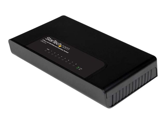 StarTech.com DS81072 8-port 10 100 Ethernet Desktop Switch, DS81072, 14543671, Network Switches