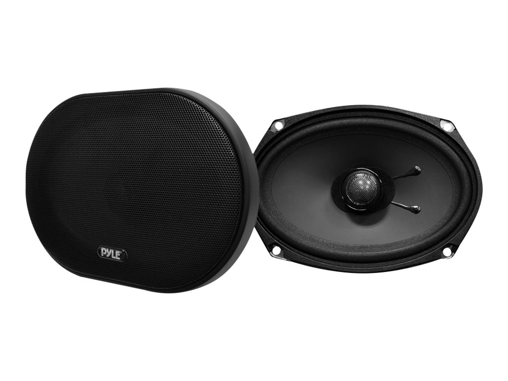 Pyle 6X9 240W Slim Mount 2-Way Coaxial Speakers, PLSL6902, 18518844, Speakers - Audio