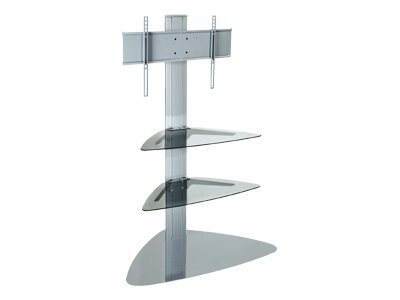 Peerless Flat Panel Stand for 32-50 Flat Panel Displays, Silver, SS550P-S, 7814998, Furniture - Miscellaneous