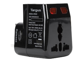 Targus World Travel Adapter w  USB, APK032US, 32897334, AC Power Adapters (external)