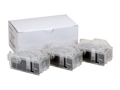 Lexmark Staple Cartridges for Lexmark W840 Laser Printer (3 Cartridges 15,000 Staples), 25A0013, 5915015, Printer Accessories