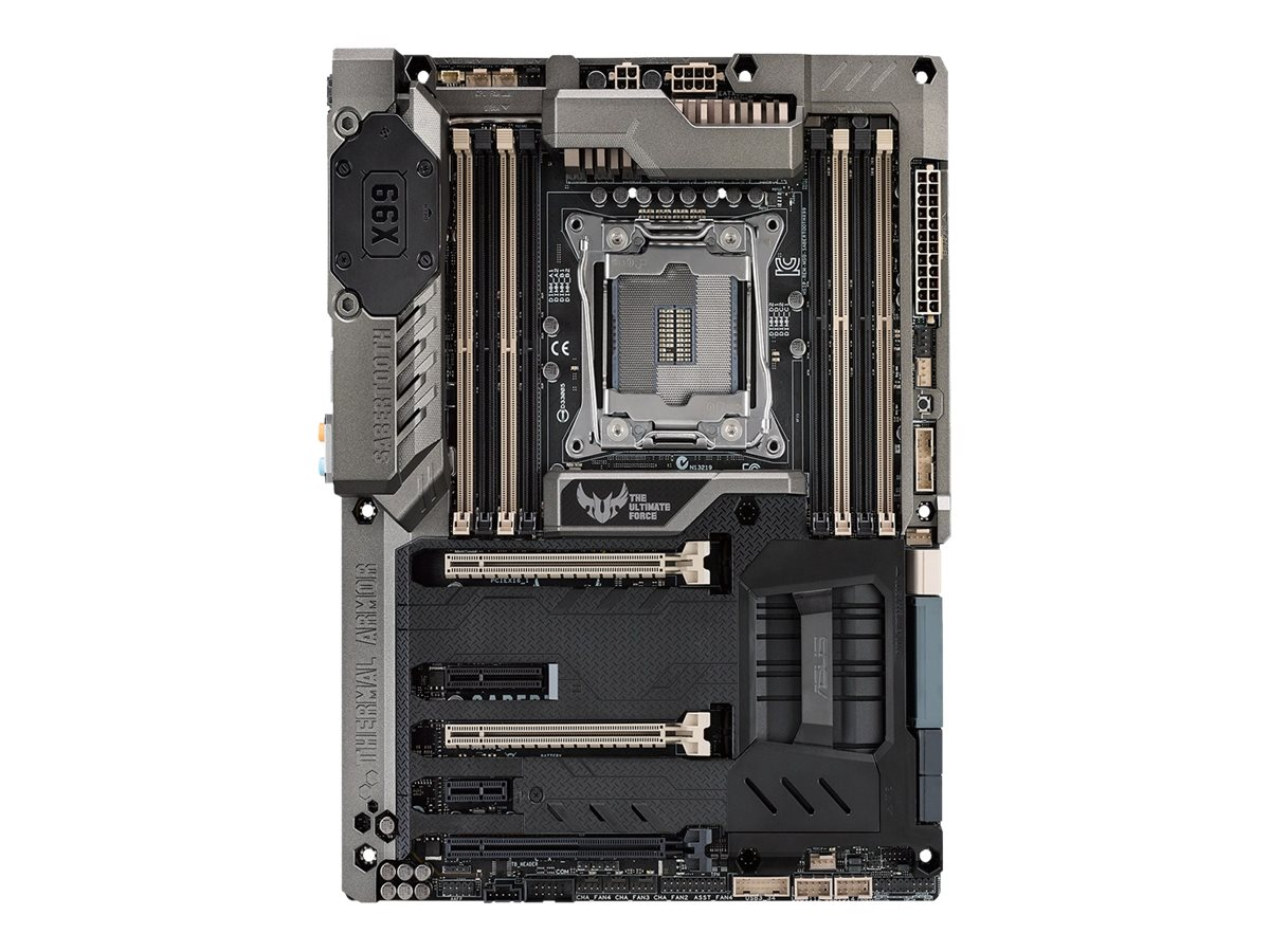 Asus Motherboard, Sabertooth X99 ATX X99 2011-v3 Core i7 Family Max.64GB DDR4 8xSATA 2xGbE, SABERTOOTH X99, 19507039, Motherboards