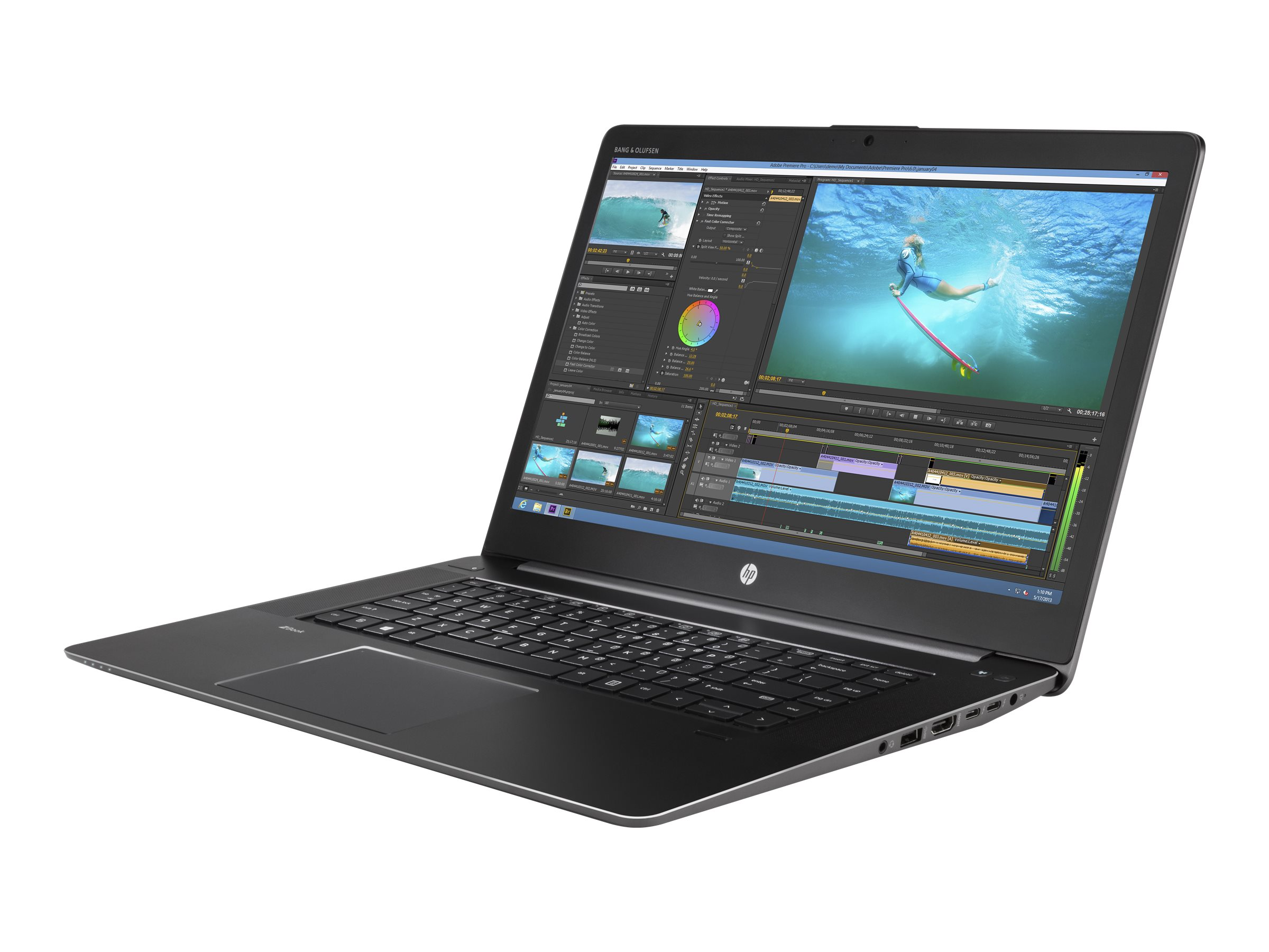 HP ZBook 15 G3 Core i7-6820HQ 2.7GHz 8GB 256GB ac BT FR WC 9C M1000M 15.6 FHD W7P64-W10P, V2W09UT#ABA, 31391366, Workstations - Mobile