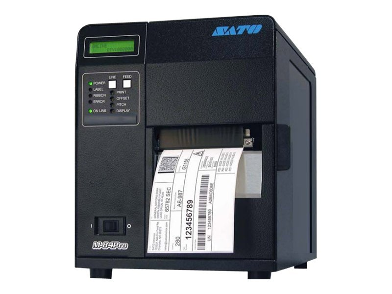 Sato M84Pro Printer, Serial, 609dpi 4.1 Thermal Transfer (WM8460031), WM8460031