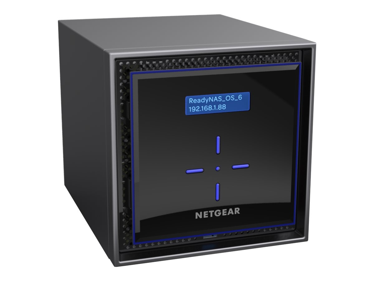 Netgear ReadyNAS 424 High-Performance Business Data Storage w  4X6TB Enterprise Hard Drives