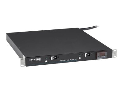 Black Box Metered Horizontal 30-Amp PDU