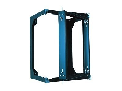 Chatsworth Swing Gate Wall Rack Cabinet 49h x 19w x 25d, 27U, Black, 11807-725, 8688073, Racks & Cabinets